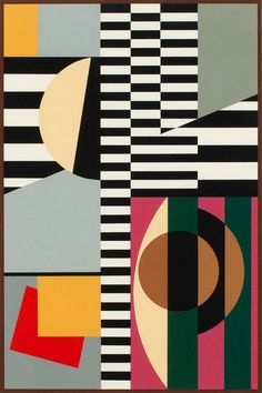 Sam Vanni - Serigraph -- Vanni was a Finnish painter of Jewish origin and considered to be the pioneer of abstract art in Finland. Contemporary Abstract Art, Modern Art, Picasso Paintings, Art Paintings, Watercolor Artists, Psychedelic Art, Art Design, Op Art, American Art
