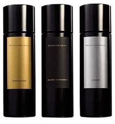 Donna Karan Chaos, Donna Karan Signature, Black Cashmere, Fuel for Men and Essence Collection