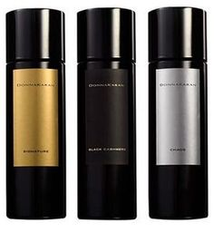 Donna Karan Chaos, Donna Karan Signature, Black Cashmere, Fuel for Men and Essence Collection