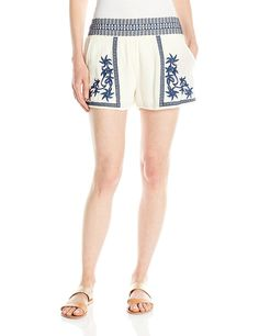 Lucky Brand Women's Embroidered Short *** This is an Amazon Affiliate link. You can get additional details at the image link.