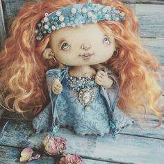 Рыжее чудо -маленькая принцесса! Ещё лошадка и ботиночки и скоро будет готова искать маму!🌟🌟#toystagram #summer #dolls #dollstagram #princess