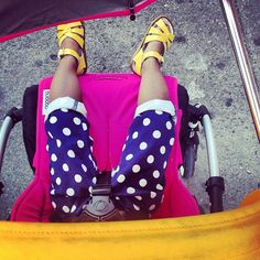 color on the streets in the bugaboo bee