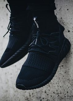 "unstablefragments2: ""adidas Tubular Doom PK 'Triple Black' (via Kicks-daily.com) """