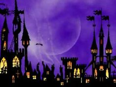 The Kingdom of Witches. This is a Halloween animated short, based on the silhouette art of Jan Pienkowski. The music is 'Labyrinth Of Dreams' by Nox Arcana.