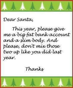 Fitness Friday Funny for the holidays :)
