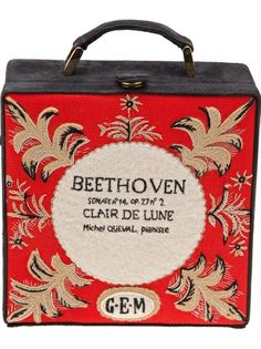 OLYMPIA LE-TAN 'Beethoven' Clutch