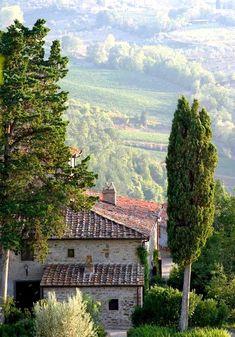 ysvoice:  | ♕ | Villa Vignamaggio - Tuscan farmhouse | by © Mathew Lodge