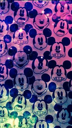 Mickey egeres hatterkep