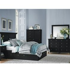 Alexander King Bed | American Signature Furniture | Bedroom ...