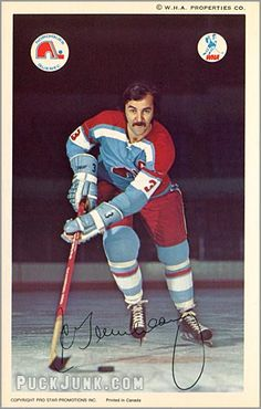 J.C. Tremblay Pro Hockey, Hockey Games, Quebec Nordiques, Player Card, Good Old Times, Vancouver Canucks, Montreal Canadiens, Team S, Hockey Players