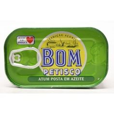 Solid Tuna in Olive Oil Bom Petisco 120g Portuguese