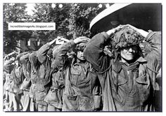 Captured British soldiers at Arnhem. 1944 BRITISH TRAGEDY AT ARNHEM  The Battle of Arnhem was a famous Second World War military engagement fought in and around the Dutch towns of Arnhem, Oosterbeek, Wolfheze, Driel and the surrounding countryside from 17-26 September 1944.