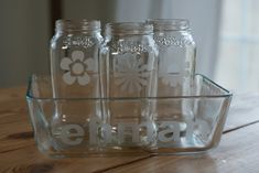 DIY ecthed glass