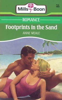 Mills & Boon - Anne Weale - Footprints in the Sand #harlequin #boeken #vintage