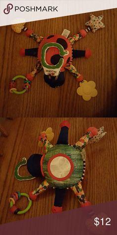 Eric Carle Lady Bug Stroller/Carseat Activity Toy Large Lady Bug activity toy Eric Carle  Accessories