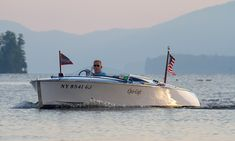 Lake George NY. Classic Boat Paradise!