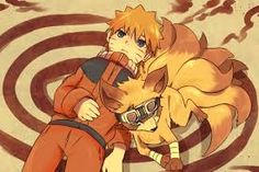 I feel like that would actually be Naruto in Fox form rather than Kurama because of the googles