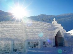 Balea Lake Ice Hotel (Chapel) - Romania : World's Coolest Ice Hotels : TravelChannel.com