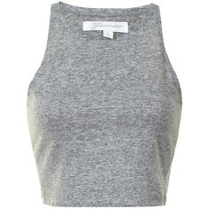 Grey Marl Textured Cropped Vest Top and other apparel, accessories and trends. Browse and shop 8 related looks.