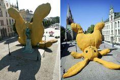big yellow rabbit 2