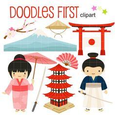 japanese women clip art graphics traditional japan clipart scrapbook rh pinterest com Scrapbook Supplies Clip Art Cute Scrapbooking Clip Art