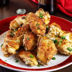 Peppered Buttermilk Wings: A definite appetizer win. Just two ingredients - McCormickandreg; Peppered Country Gravy Mix and wing pieces – take these wings beyond basic.Coat, bake and bask in the glory of another party dish done right.