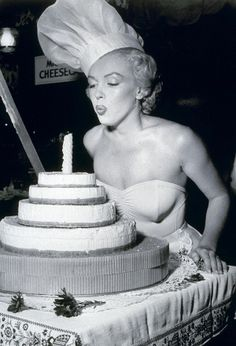 Marilyn Monroe Birthday cake