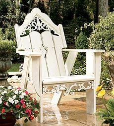 just LOVE this take on the traditional adirondack