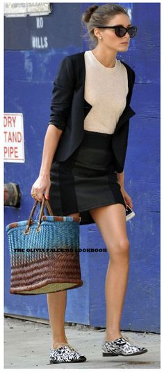 The Olivia Palermo Lookbook : LOOK OF THE DAY: Olivia Palermo in the streets of New York.