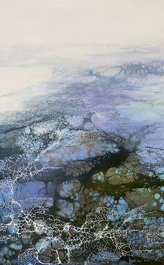 Organic Art, Encaustic Painting, Art Portfolio, Texture Art, Art Projects, Project Ideas, It Works, Sculptures, Clouds