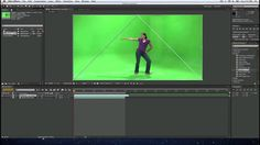 How to do a key or green screen  effect in Adobe After Effects CS6