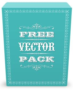 Free Vintage Vector Pack - 85 vector ornaments, 20 decorative frames, 100 vector illustrations to Download