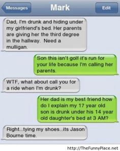 Dad I am drunk - Funny Pictures, Awesome Pictures, Funny Images and Pics
