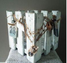 Beach House: <br>Plantenbak - windlicht | Karin's Deco Atelier