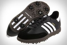I just found my next golf purchase. #adidas #samba #golfshoes