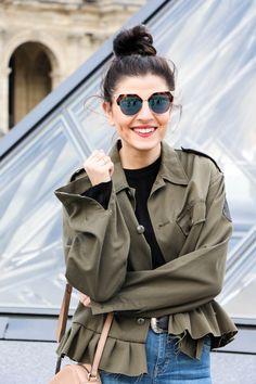 12eba942a Musée du Louvre | Topshop Jamie Jeans | Fendi Iridia Sunglasses | Gucci  Disco Soho Bag