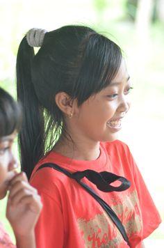 Volunteering teaching English in Ubud, Bali, Indonesia.