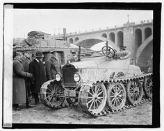 Tracked Model T