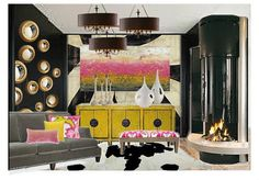 Interior Design, Interior Decorating, Interior Designer, E-Design, Virtual Interior Design, E-Decorating, Living Room Decor