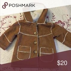Infant Gap Jacket 6-12 months Gap Gamuza infant jacket for 6-12 months  unisex in very good condition! Final Price & Sales! GAP Jackets & Coats