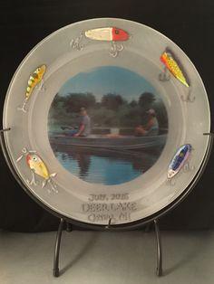 Custom glass dish