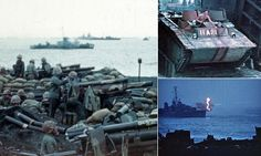 Unseen color film shows US Marines in action all the way back to the 1930s | Daily Mail Online