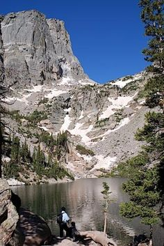 Hike from Bear Lake trailhead to  Nymph Lake, Dream Lake, and Emerald Lake. 3.6 miles roundtrip. easy to moderate hike, totally worth it.
