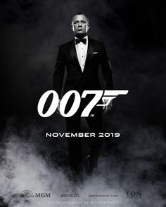Bond 25 teaser poster carros - james bond 007 бонд, джеймс бонд e фил James Bond 25, Daniel Craig James Bond, James D'arcy, James Bond Theme, James Bond Movie Posters, James Bond Movies, Best Bond, Action, Thing 1
