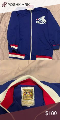 b05b03ced54 Vintage Authentic Chicago Cubs jacket Authentic Cooperstown Collection  Mitchell   Ness Jackets   Coats Performance Jackets