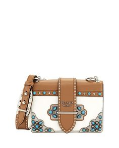 844703bfb55b Get free shipping on Prada Folk Cahier at Neiman Marcus. Shop the latest  luxury fashions