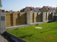 GranitHolzEdelstahlZaun For the garden Fence, Steel