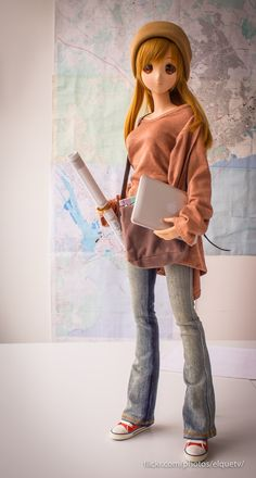 Mirai Suenaga Smart Doll by elquetv