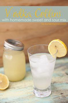 1.5 oz vodka, 1.5 oz sweet & sour mix, club soda, ice