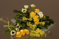 Disposer les fleurs